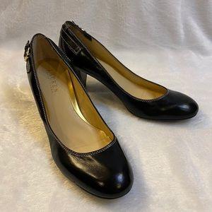 Lauren Ralph Lauren black heels size 8 1/2